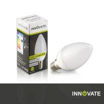 LED Lampe E14, Kerze, 5W, 400 Lumen, 2700K warmweiß