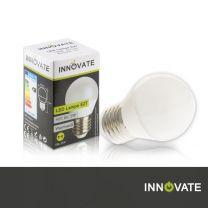 LED Lampe E27, Birne, 5W, 400 Lumen, 2700K warmweiß