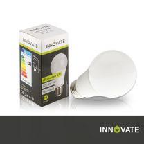 LED Lampe E27, Birne, 9W, 800 Lumen, 2700K warmweiß