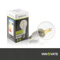 LED Lampe Filament E14, 4W, Illu, 400 Lumen, 2800K warmweiß, dimmbar