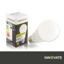 E27 LED Glühbirne 9W A60, 810 Lumen, 270°, warmweiss