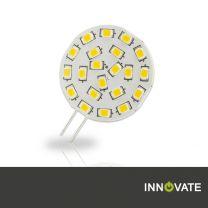 G4 LED 21SMD, 3W, 120°, warmweiss, Pin seitlich