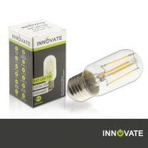 E27 LED T33, 4 W, 380 lm, warmweiß
