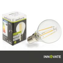 E14 LED G45, 4 W, 450 lm, warmweiß