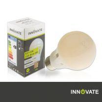 E27 COB-LED Birne A60, 10W Kunststoff, 360°, weiß, warmweiss