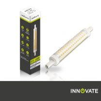 R7S LED Stab ECO, 7 Watt, 100xSMD warmweiß, 118mm