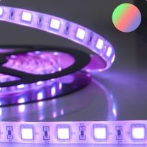 LED Streifen ECO RGB 5 Meter, 24V, 14,4W pro Meter, IP68
