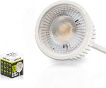 LED Modul ultra flach (22,8mm) 420 Lumen - warmweiß 3000K - 5 Watt - 3 Stufen dimmbar - GU10 MR16 Ersatz von INNOVATE® (8 x LED Modul - warmweiß - dimmbar)